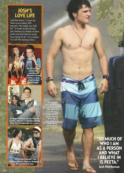 Josh Hutcherson Including Shirtless image