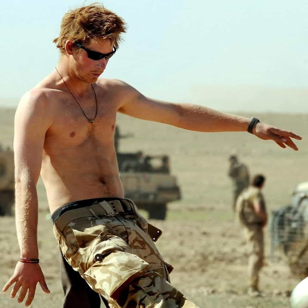 Prince Harry Including Shirtless and Naked