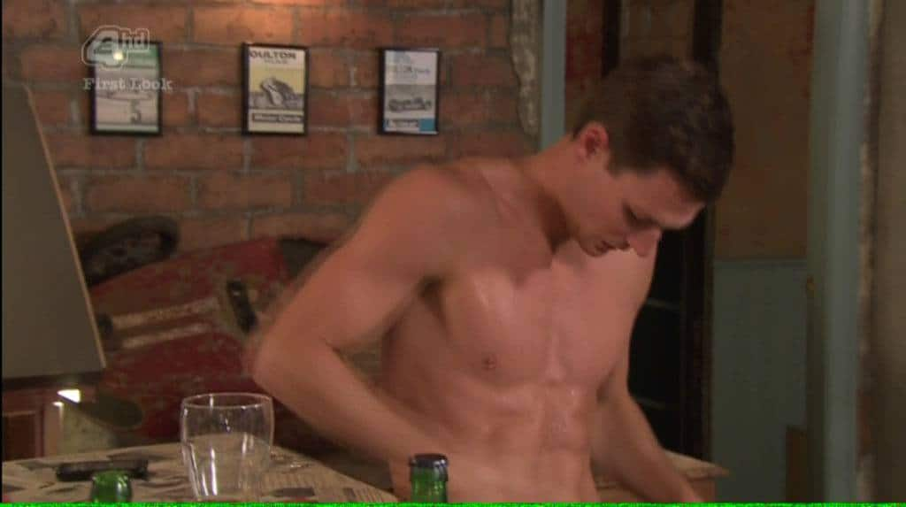 James Farrar On Hollyoaks Getting Stripped image