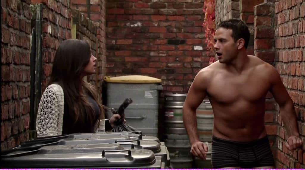 Ryan Thomas Shirtless In Coronation Street image