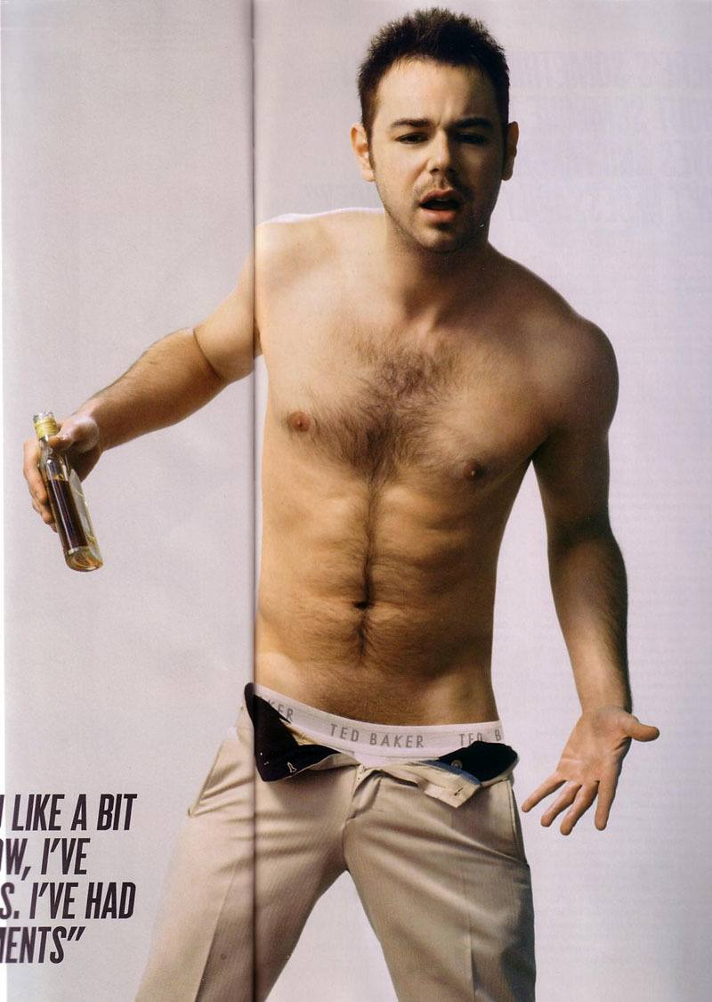 Danny Dyer Naked In Attitude Photoshoot image