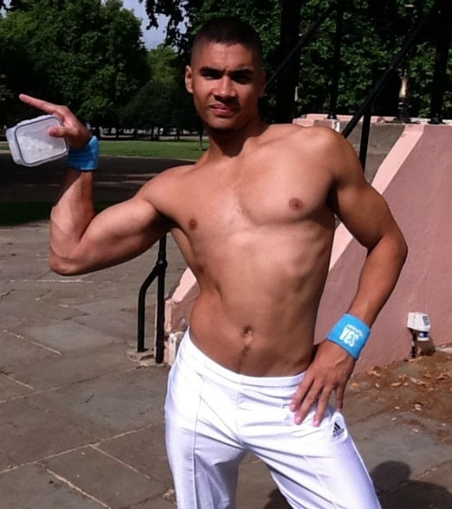 Louis Smith Shirtless