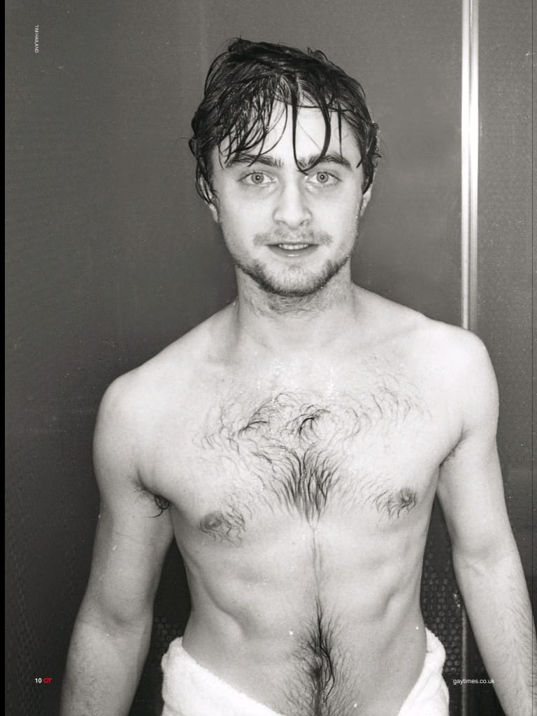 Daniel Radcliffe Shirtless image