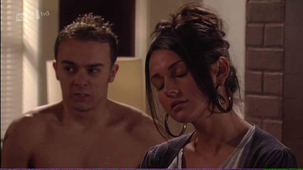 Jack P Sheppard Shirtless In Coronation Street