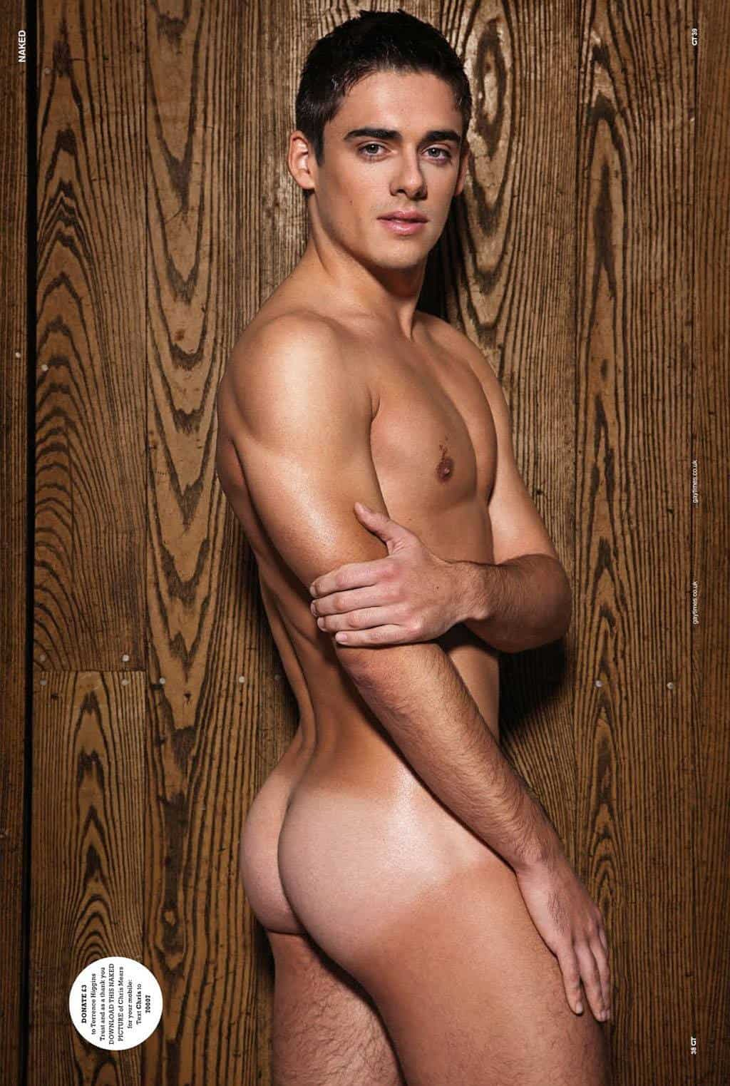 More Chris Mears Naked In Gay Times 2013 Naked Edition