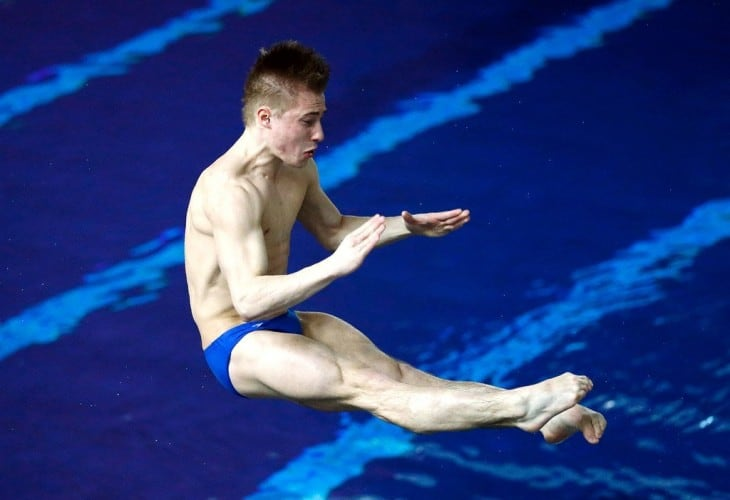 Jack Laugher In Action
