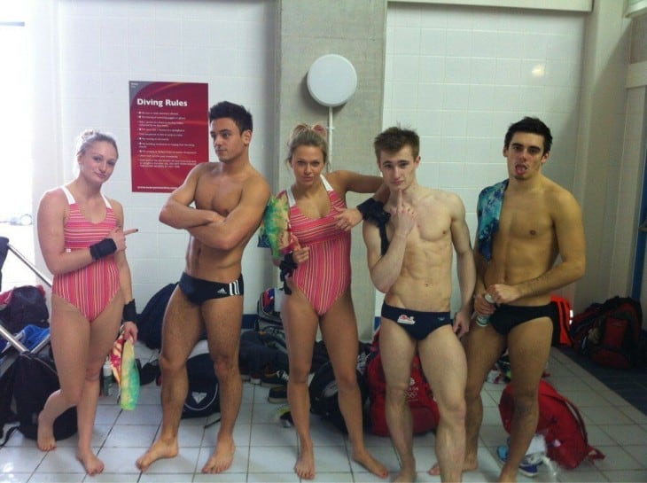 Tom Daley, Chris Mears and Jack Laugher