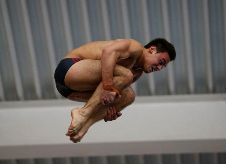 New Tom Daley At The British Diving Championships