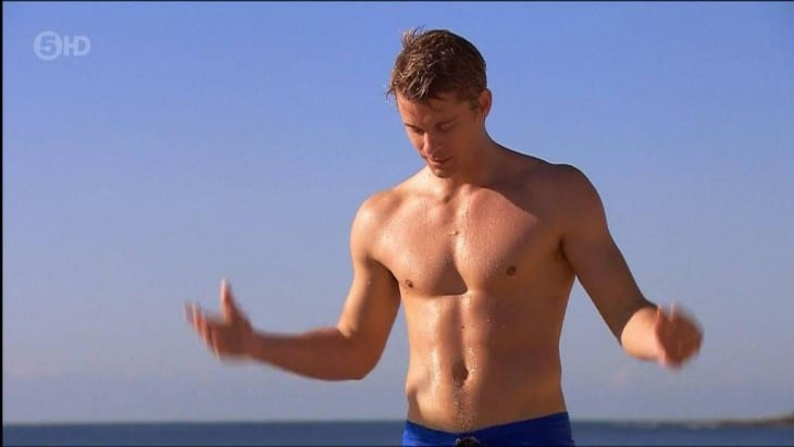 Luke Mitchell Looking Very Fit