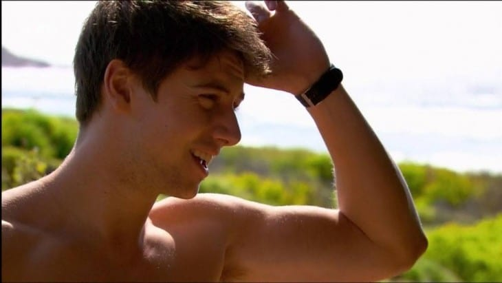 Lincoln Younes Shirtless On Home & Away