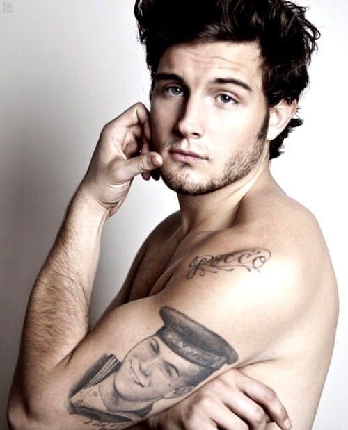 Nico Tortorella Shirtless image