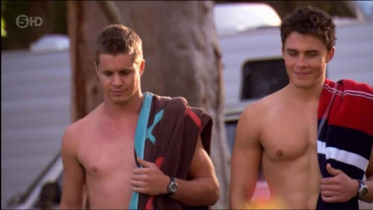 Andrew James Morley Shirtless On Home & Away
