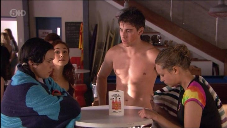 An Early Morning Treat - Lincoln Younes Shirtless