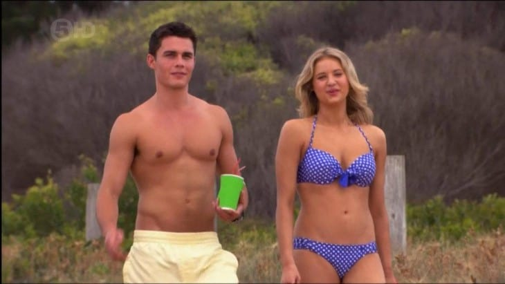 Andrew James Morley & Johnny Ruffo Shirtless