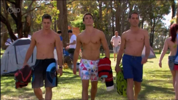 Andrew James Morley Shirtless On Home And Away