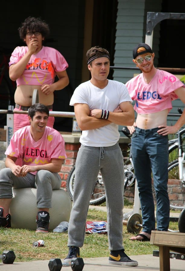 Zac Efron Bulging In Joggers