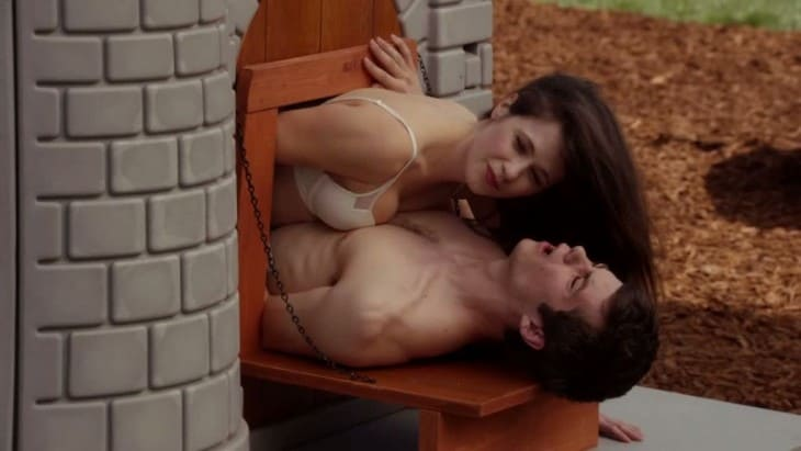 Dylan O'Brien Shirtless In New Girl