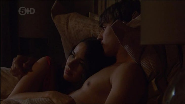 Taylor Glockner Shirtless In Bed