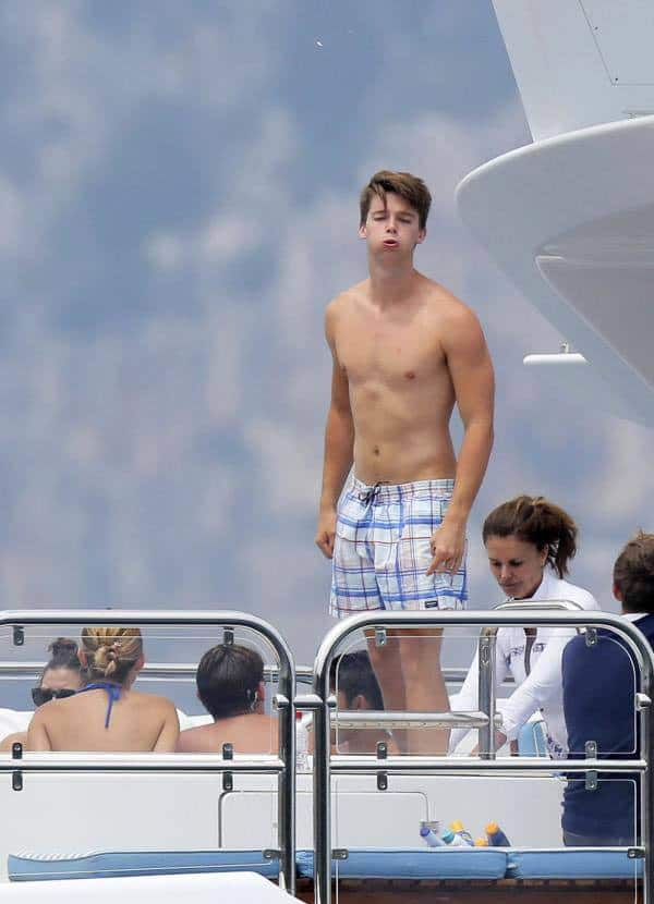 Patrick Schwarzenegger Shirtless image