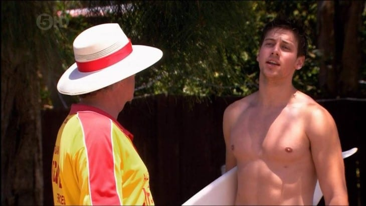 Surfer Lincoln Younes Shirtless