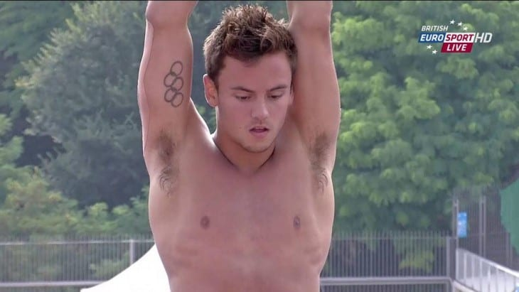 Tom Daley Shirtless In Speedos