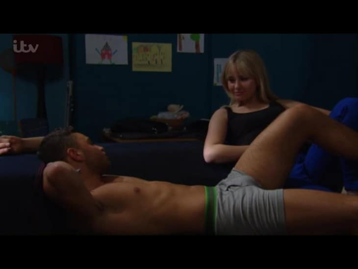 Adam Thomas In Just His Underwear