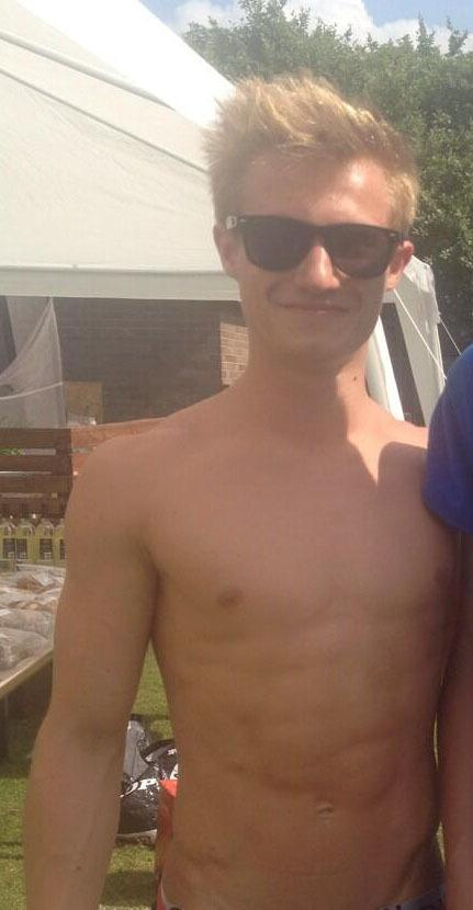 Team GB's Chris Mears and Jack Laugher Shirtless