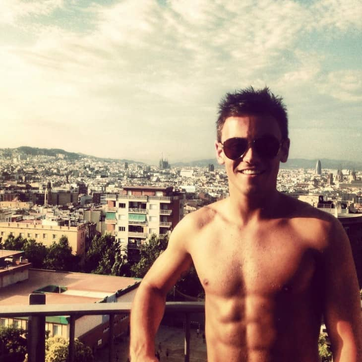 Recent Tom Daley Shirtless