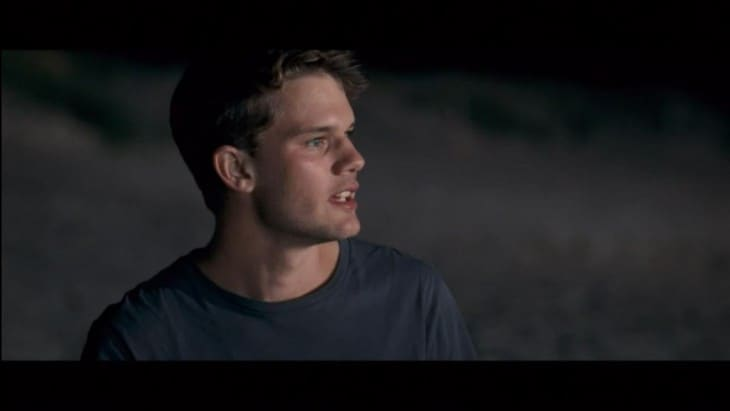 Jeremy Irvine Shirtless In Now Is Good