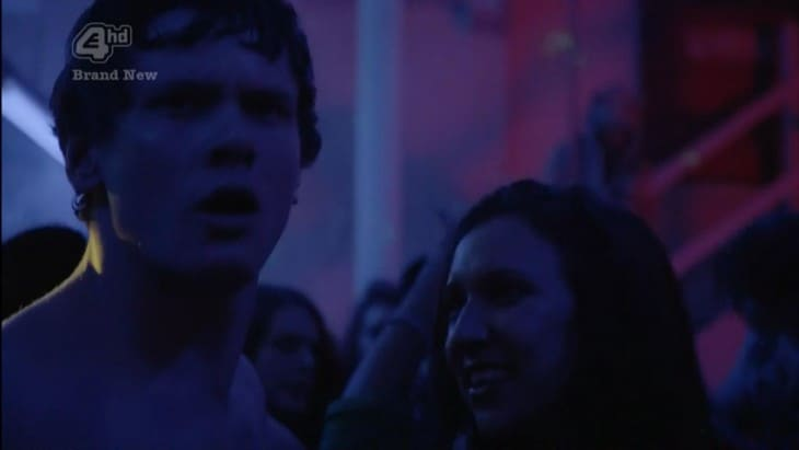 Jack O'Connell Shirtless In Skins Rise Part 1