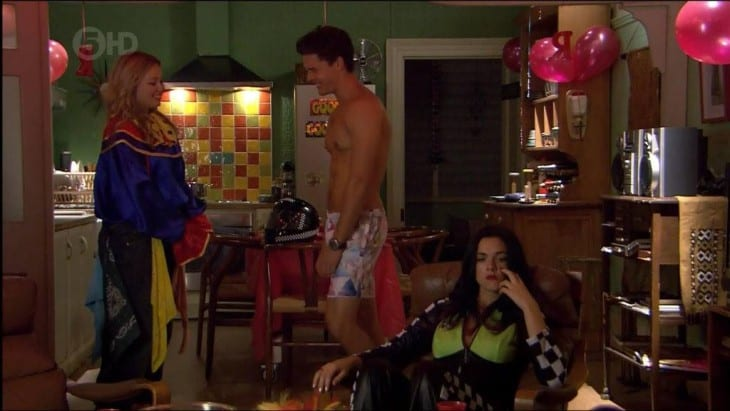 Andrew Morley Shirtless On Home and Away