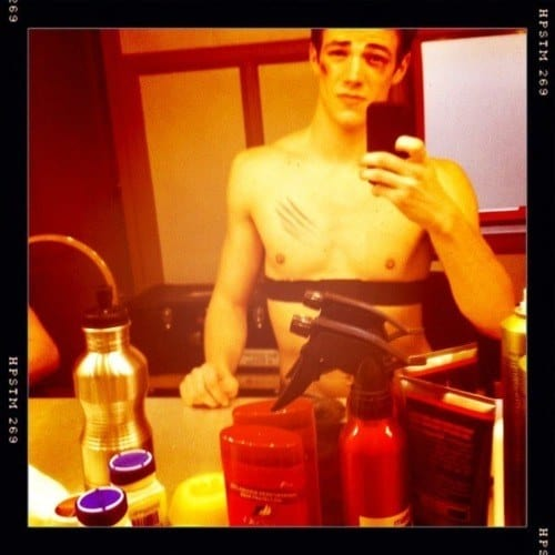 Grant Gustin Shirtless image
