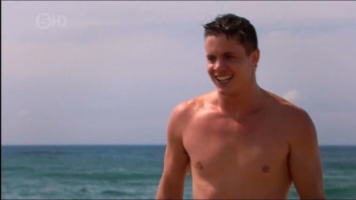 Johnny Ruffo Shirtless In Home & Away