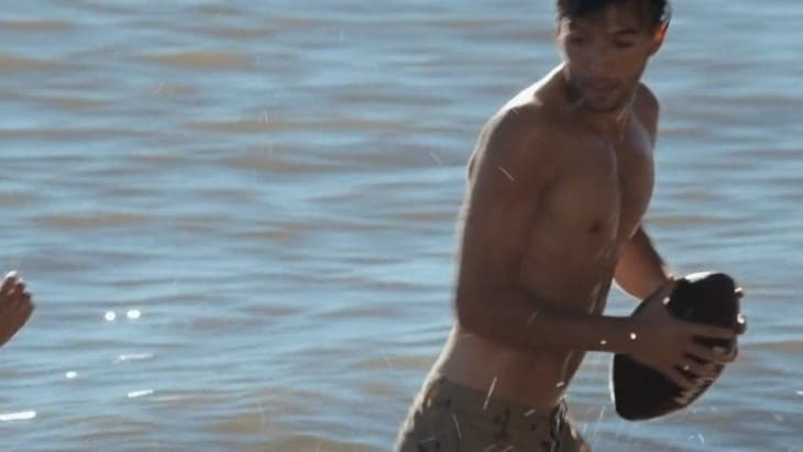 Guy Burnet Shirtless