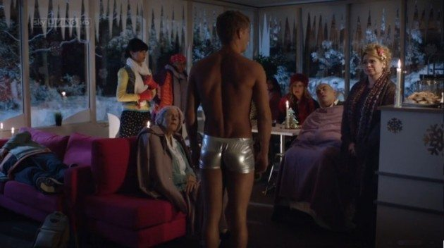 Phil Olivier In Hot Pants