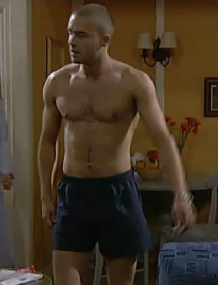 Ben Freeman Shirtless