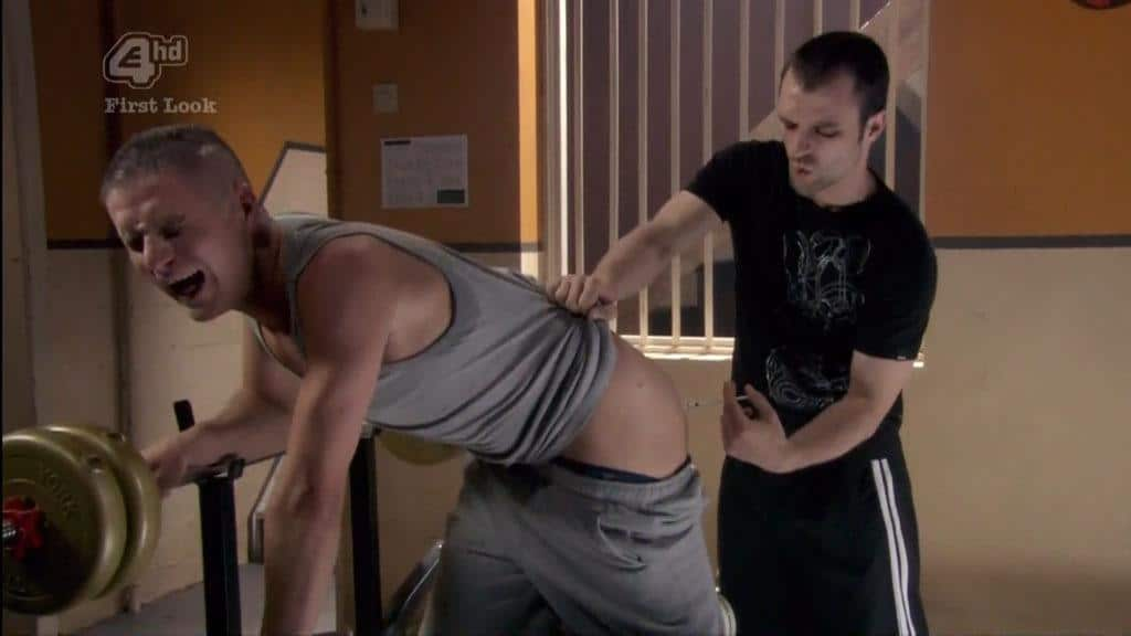 Michael Taylor In Shameless Including Shirtless and Butt
