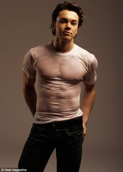 Ray Quinn Tight Wet T Shirt image
