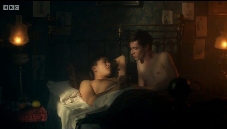 Gay Couple On Ripper Street