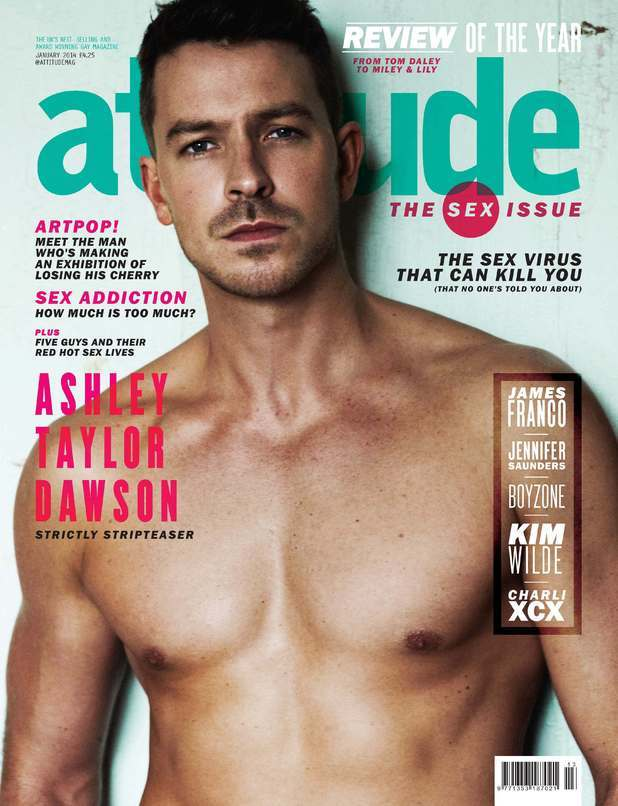 Ashley Taylor Dawson Shirtless In Attitude image