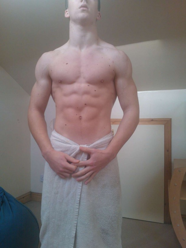 Proper Fit Lad Shirtless & Naked