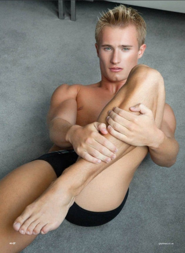 Jack Laugher Gay Times Photoshoot