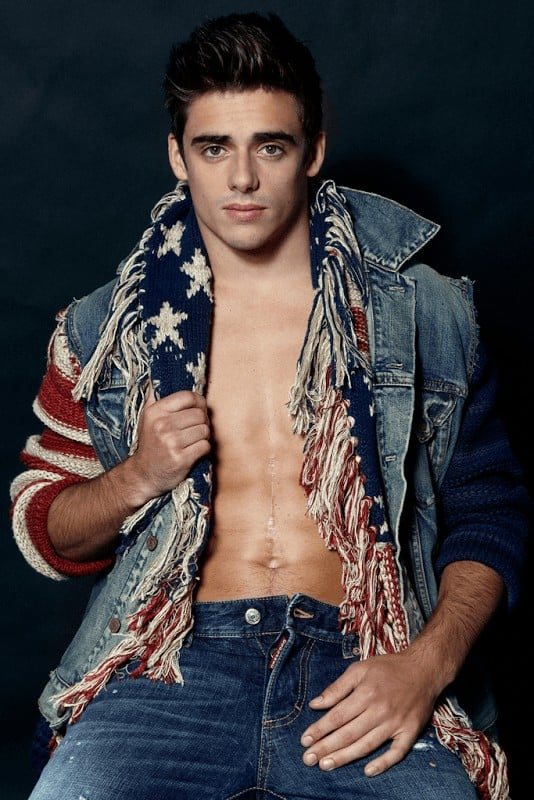 New Chris Mears Shirtless