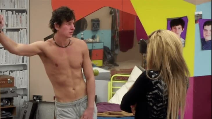 Sam Evans Shirtless In Big Brother 13
