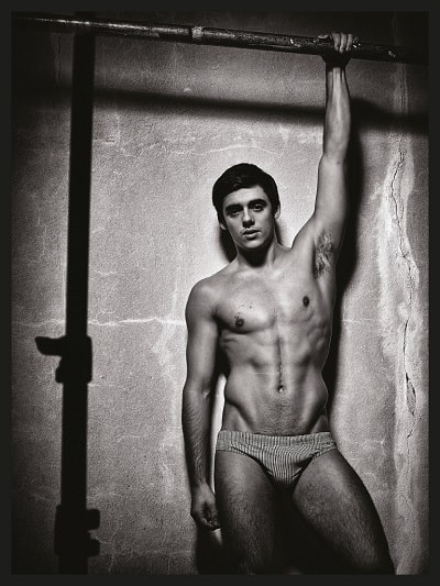 Chris Mears Winq Magazine Photoshoot image