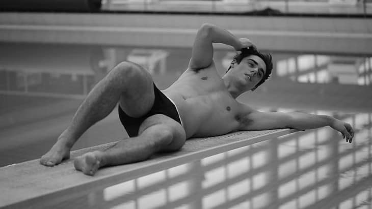 Chris Mears Behind The Scenes Winq Magazine Shoot