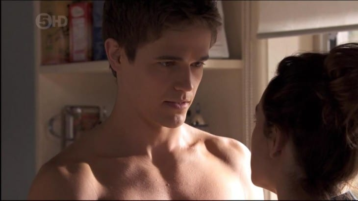 Nic Westaway Shirtless On Home And Away