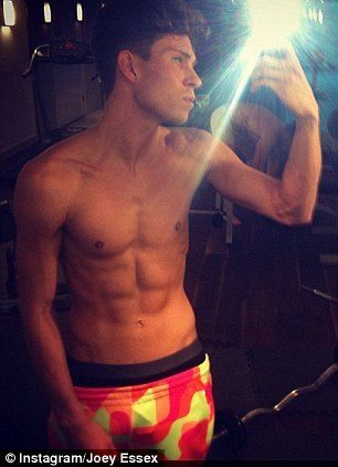 Joey Essex Shirtless image