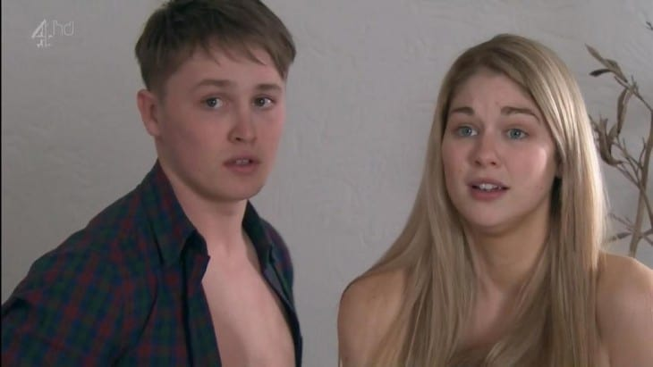 Alfie Browne-Sykes Caught Making Out