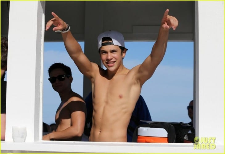 Austin Mahone Shirtless Mix